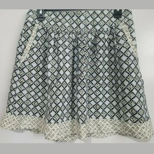 Loft Women's Mini Flare SkirtSize 8 Pockets